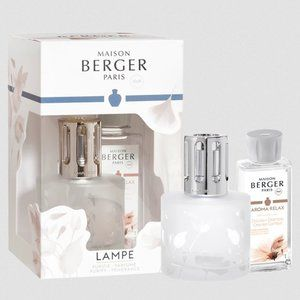 NWT Maison Berger Aroma Relax Lamp Gift Set